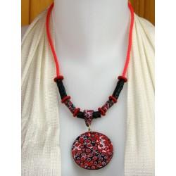 Collier pendentif Etna